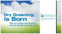 Greenearth dry cleaning in Perth